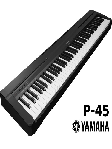 yamaha p45 digital piano. Black Bedroom Furniture Sets. Home Design Ideas